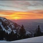 Frân-tură de iarnă: Curmătura Builei