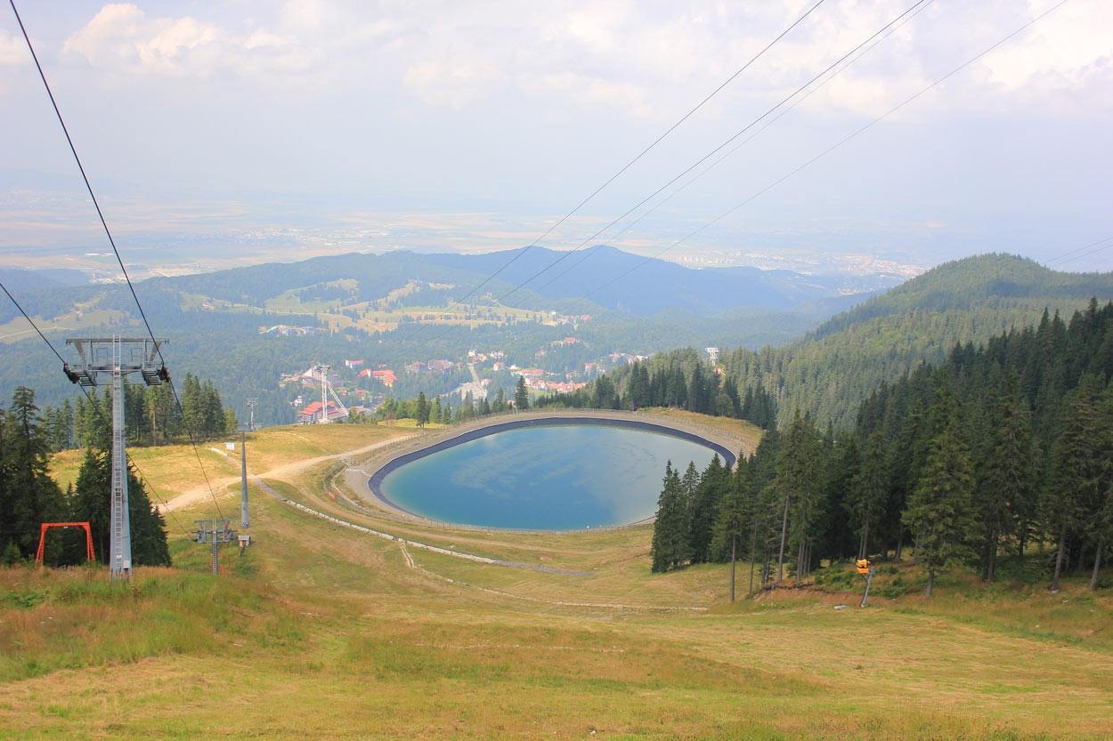 lacul artificial al partiei postavaru