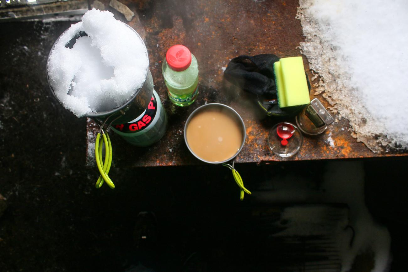 un ceai din zapada in nemira