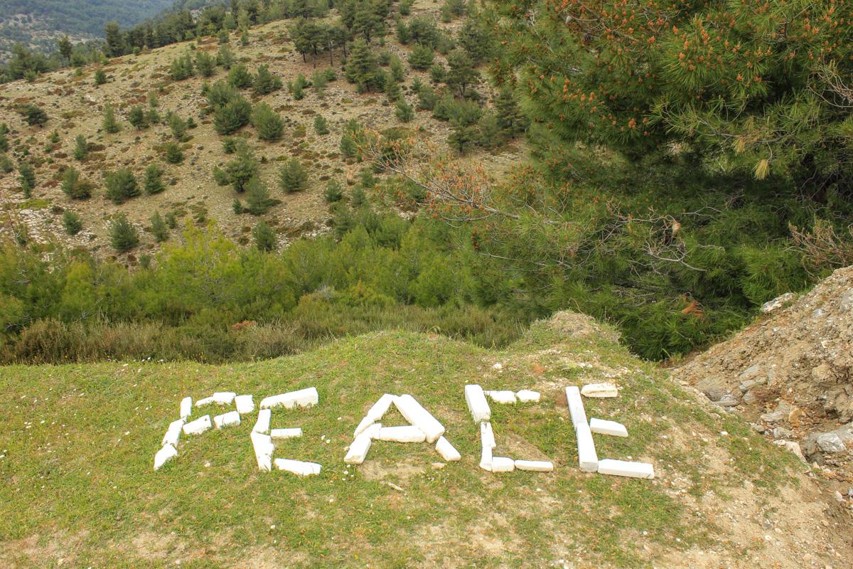 Mesaj în Thassos