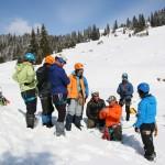 Cum a fost la atelierul AMC de inițiere în alpinism hivernal