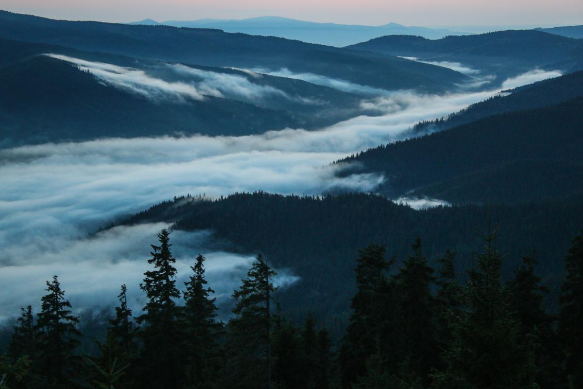 Nori pe Valea Oltului