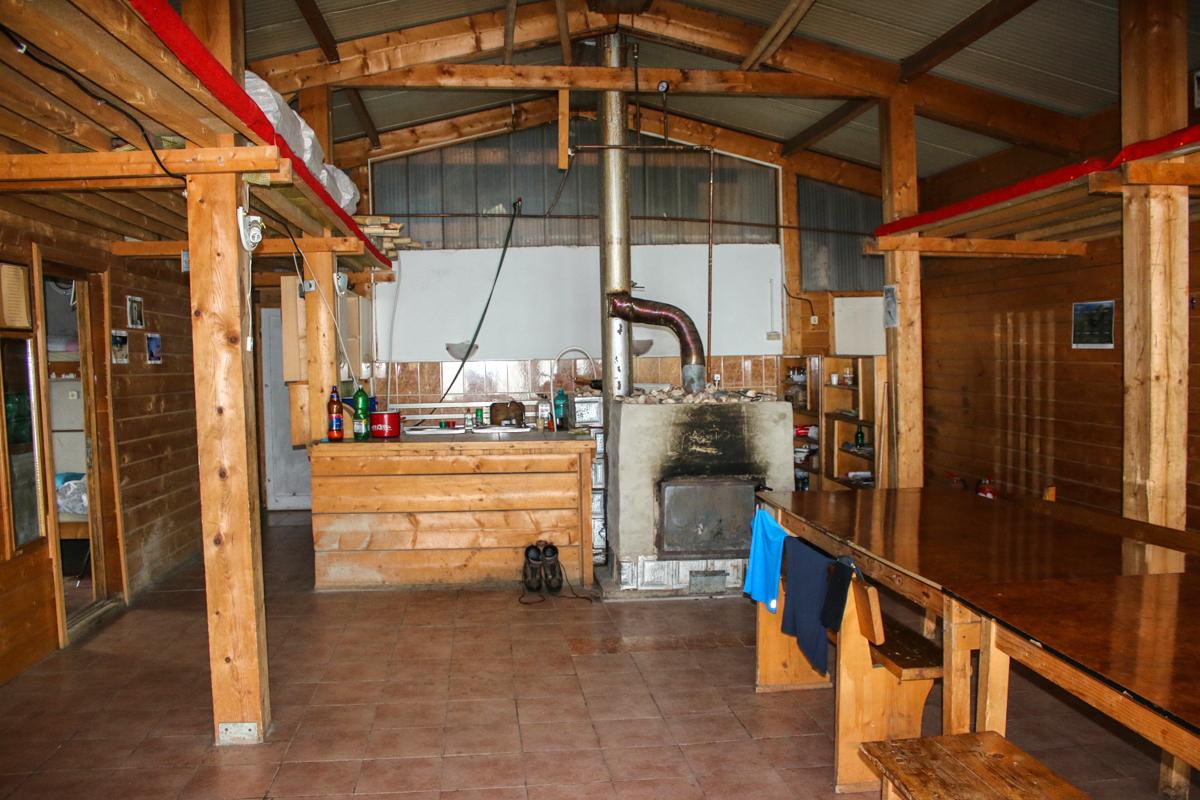 Interior cabana Roza Vânturilor