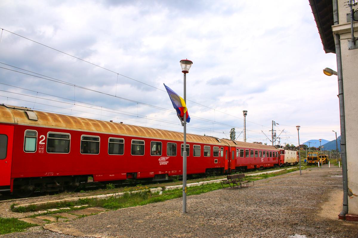 În gara Toplița