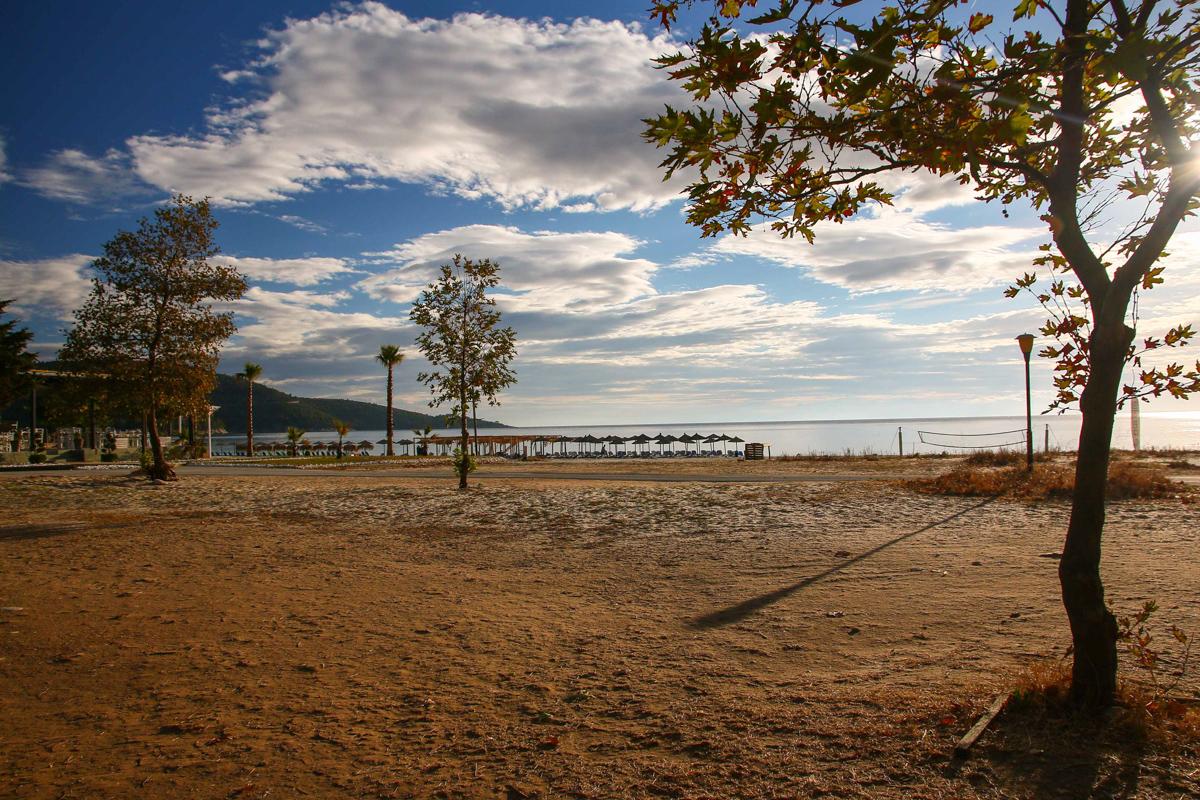 La plajă în Thassos