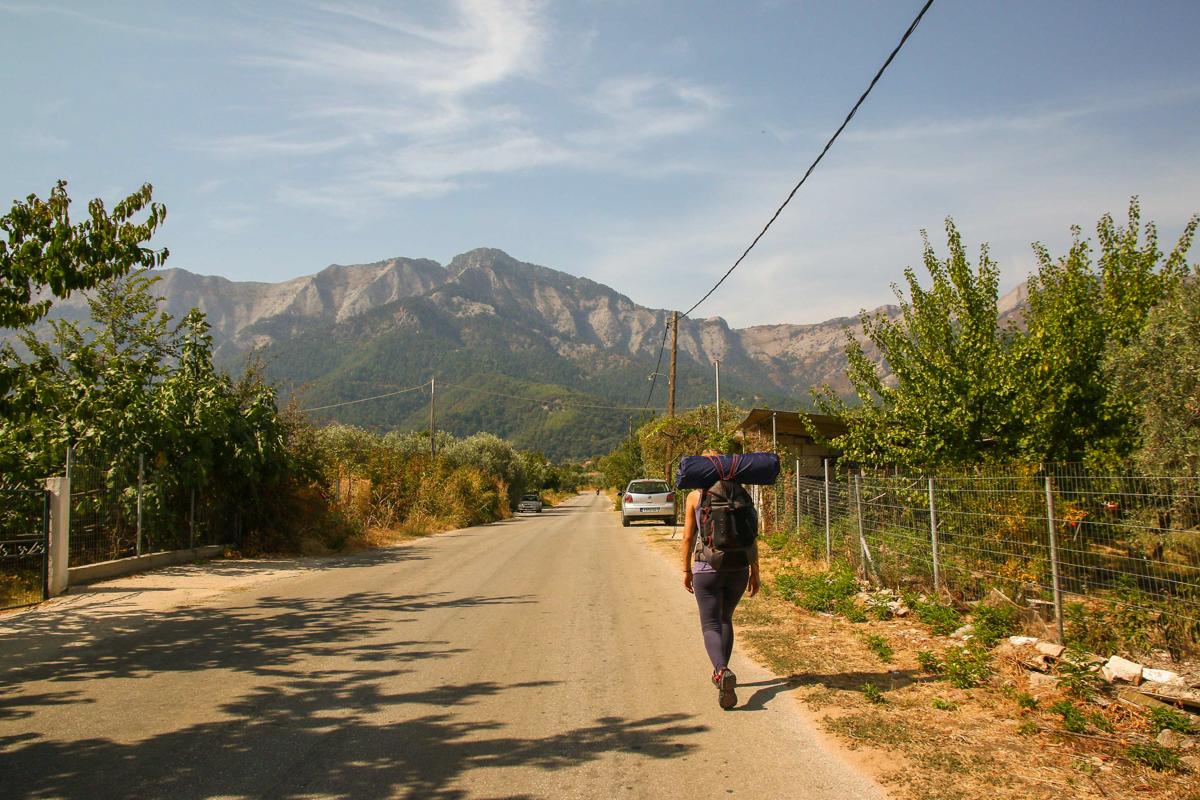 Pe calea muntelui