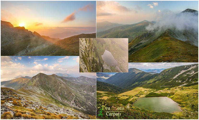 Înălțimile nordului și lacurile glaciare ale Rodnei @ Munții Rodnei