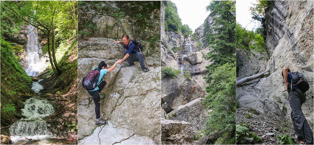 Aventură pe vale alpină spre Cascadele Vânturișului @ Valea Izvorului Dorului